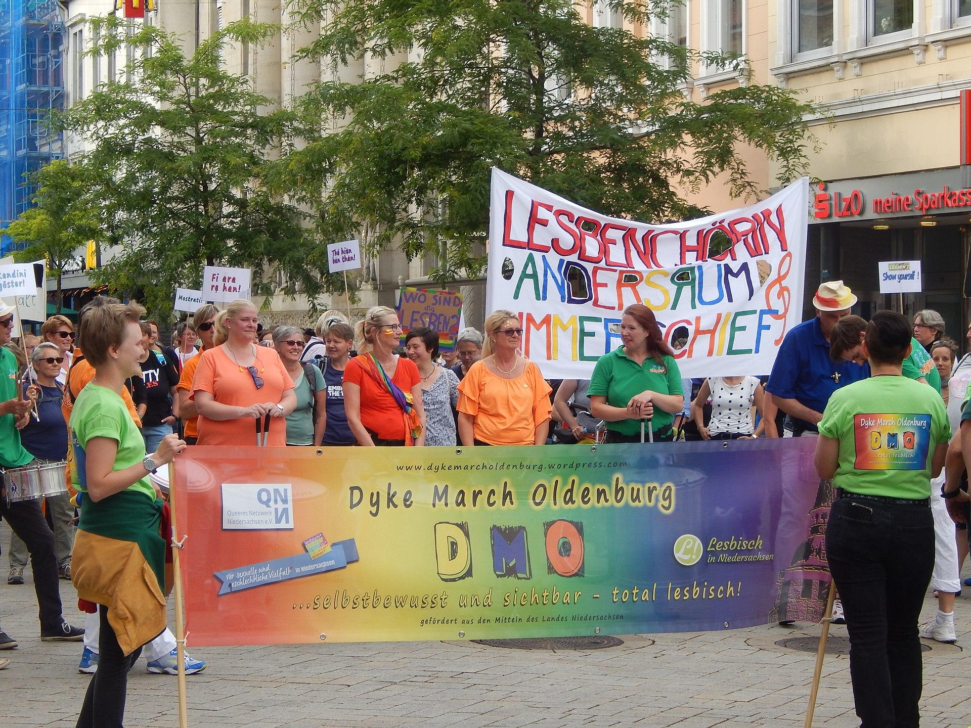 DykeMarch in Oldenburg 2018