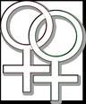 Lesbenzeichen